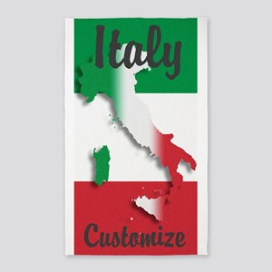 Customized Italy Italian Flag Area Rug